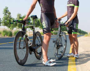 Ironman Cyclists David Labouchere and Luke Mathews   Sport Photographer   Cameron Clegg Photography   Sydney, Australia