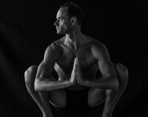 Ironman David Labouchere in Black and White   Sport Photographer   Cameron Clegg Photography   Sydney, Australia