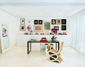 Jafar Dajani Frank Gehry Wiggle Chair | Interiors Photographer | Cameron Clegg Photography | Sydney, Australia