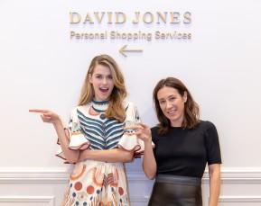 Victoria Lee and Vogue's Edwina McCann for David Jones | Event Photographer | Cameron Clegg Photography | Sydney, Australia