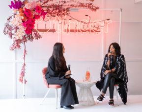 Vogue's Julia Frank and Julie Stevanja for Tinder | Event Photographer | Cameron Clegg Photography | Sydney, Australia
