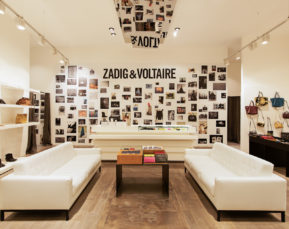 Zadig and Voltaire | Interiors Photographer | Cameron Clegg Photography | Sydney, Australia